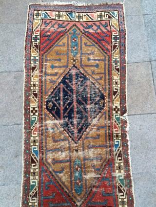 Shahsevan Rug size 273x76cm