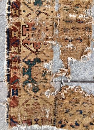 Shahsavan fragment carpet size 165x110cm