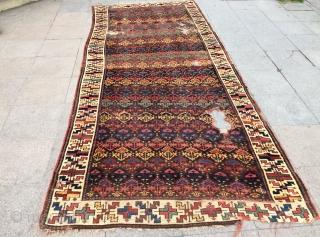 Persian Kurdish rug size 345x150cm