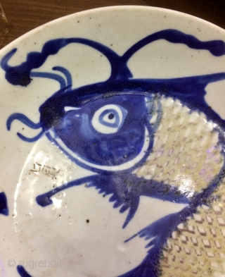 China plate 20x20cm