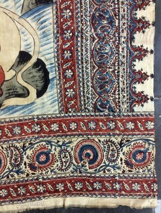 Esfahan Qhalem Qhari size 130x90cm