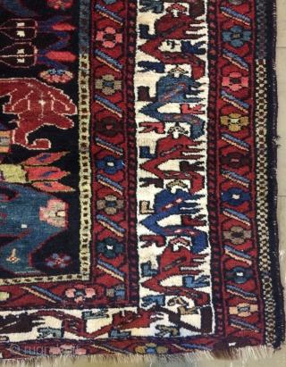 Persian Bahtiyari Carpet size 190x135cm