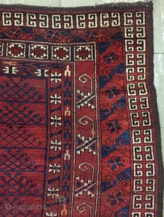 Ersari carpet size 6x4,5 ft