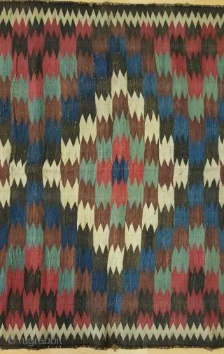 Shiraz kilim   Size 250x135cm