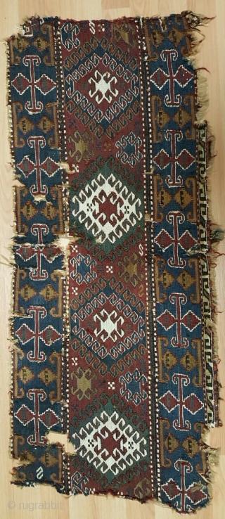 Caucasian panel size 46x110cm