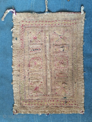 Indian Gypsy lumbani back of head wear. Size 29x20cm