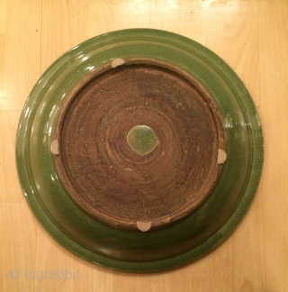 Chine Celadon Plate