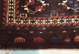 Yamut chuval size 110x80cm
