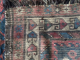 Persian Kurdish carpet size 190x110cm