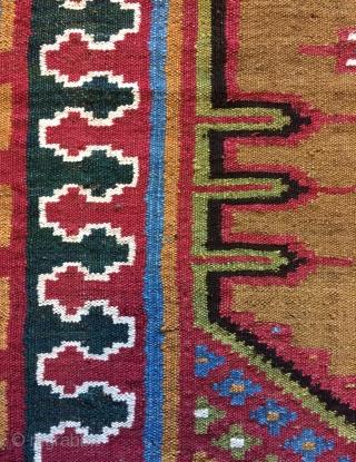 Shustar kilim size 4'6x3 ft