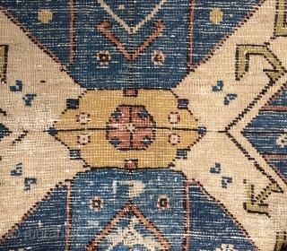 Dagistan shirvan carpet size 335x175cm