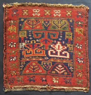 Rare Khurdis Shahsavan Bag Face size 1'5 x 1'4 ft