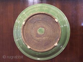 Celadon plate size 42x42cm