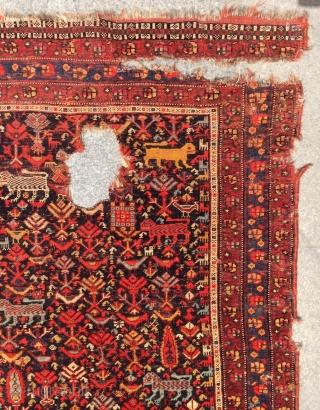 qhasgai Carpet size 170x135cm