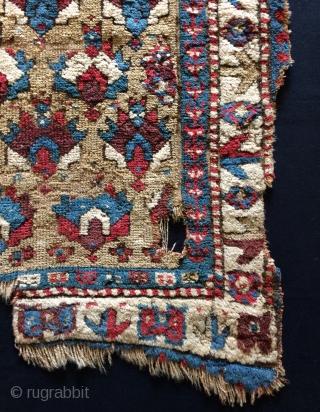 Shahsavan fragment carpet size 85x95cm