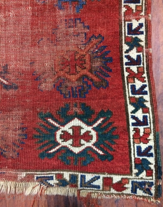 Caucasian small carpet size 118x79cm