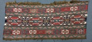 Caucasian panel size 45x110cm
