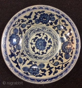 Chinese plate 19th century size 40cm