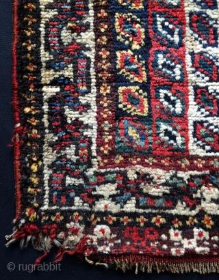 Qhasgai Saddle bag face size 54x61cm