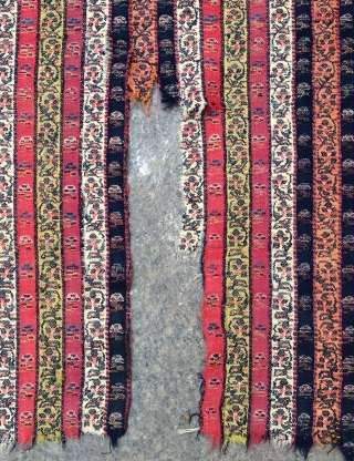 Anatolian Sivas Shawl, very fine quality all are colors natural dyes and very old.