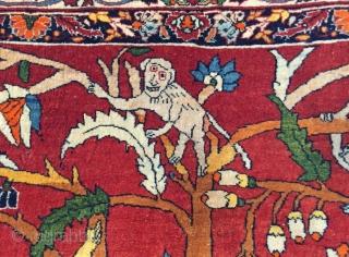 Persian carpet size 180x130cm