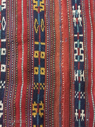 Shahsevan jajim wool size 230x220cm