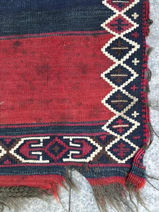 Anatolian kilim size 245x77 cm