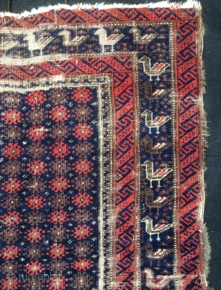 Beluch Small carpet size 90x74cm
