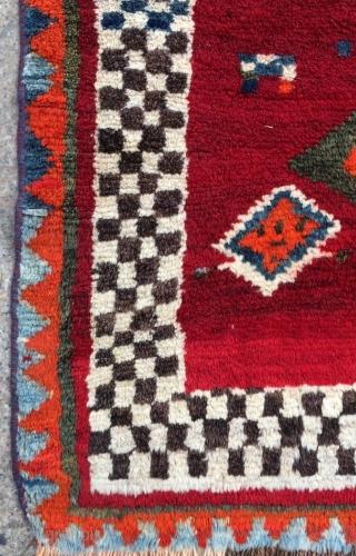 Qhasgai Gabbeh size 210x135cm