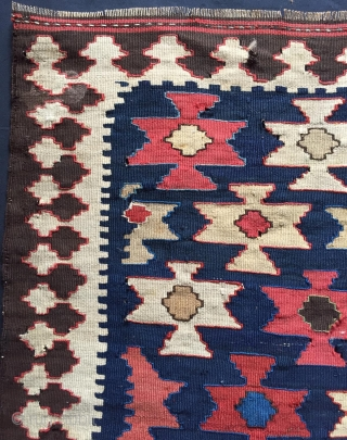 Shahsavan kilim bag face size 65x65cm