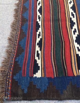 Rare Veramin kilim size 205x214cm
