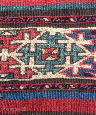 Shahsavan khamamlu silk warp size 200x100cm