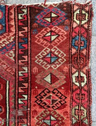 Anatolian Kurdish Divan Fragmand size 136x110cm