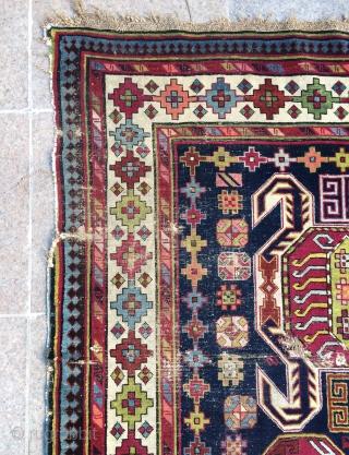 Caucasian runner carpet size 310x118cm