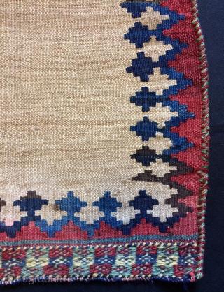 Rare Qhasgai kilim pillow size 81x47 cm