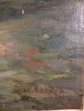 oil paint table size 78x47cm
