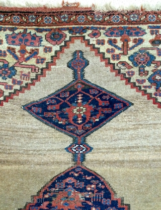 Persian Hama'dan Kurdish Carpet size 200x110cm