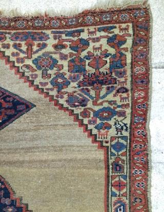 Persian Hama'dan Kurdish Carpet size 200x110cm