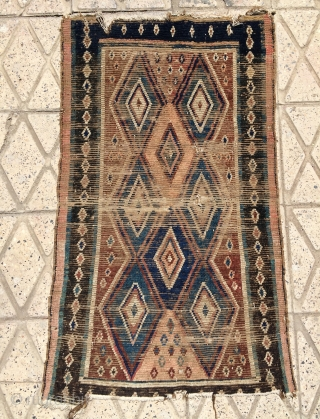 Small Gabbeh carpet size 105x73cm