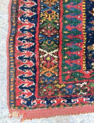 East Anatolian Kurdish Fragmand carpet size  136x96cm