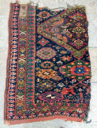East Anatolian Kurdish Fragmand carpet size  136x96cm