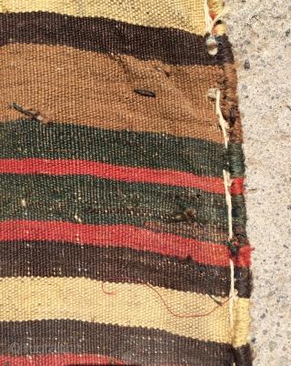 Qashgai saddle bag size 50x46 cm