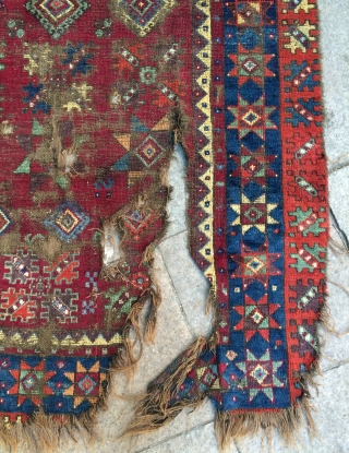 South Anatolian Qahraman marash Carpet size 180x130cm