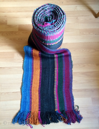 Shahsevan silk band size 880x38 cm