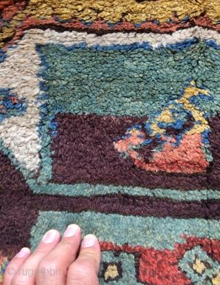 Anatolian Sivas carpet all colors natural dyes size 355x102cm