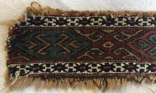 Shahsavan scissors bag size 8x44cm