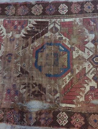 Persian North West Kurdish rug. Size 230x110cm