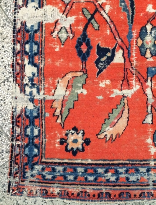 Moghol or khottan carpet all are colors natural dyes, very fine quality, size 200x110cm