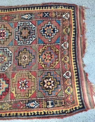 Khojan Kurdish carpet size 240x145cm