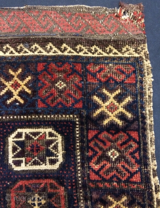 Rare beluch bag face size 60x61cm